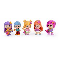 Pinypon - cubo mix is max con 5 figuras - 13004172