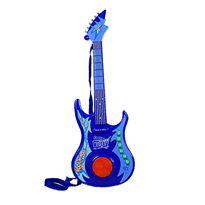 Guitarra eléctrica con luz azul - 87871248(1)