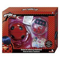 Ladybug bolsa belleza y manicura - 33313169