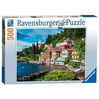 Puzzle 500 lago di como, italia