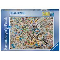 Puzzle 500 francobolli