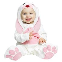Pequeño conejito rosa 7-12 meses - 55204311