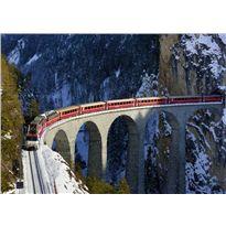Puzzle 1000 tren suiza - 26919352
