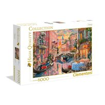 Puzzle 6000 atardecer en venecia - 06636524