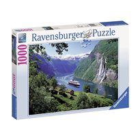 Puzzle 1000 fiordo - 26915804
