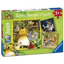 Puzzle la panda de la selva c 3 x49 - 26908010