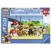 Puzzle paw patrol a 2 x24 - 26909064