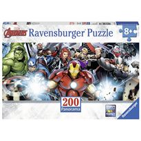 Puzzle 200 avengers panorama - 26912737