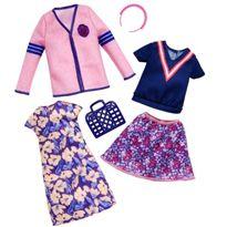Barbie moda casual dos conjuntos - 24555169
