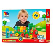 Tren bloques 28 piezas - 26517470
