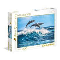Puzzle 500 delfines