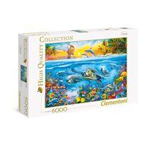 Puzzle 6000 bajo el agua