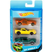 Pack de 3 vehiculos hot wheels - 24542561