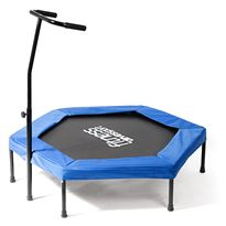 Trampolin hexagonal fitness 126 cm hyd009055 - 11136229