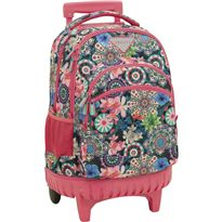 Fixed trolley bag compact privata floral - 33671600