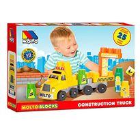 Camion blocks + remolque 25 piezas