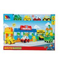 Caja moltoblocks 4 coches
