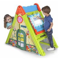 Play & fold light box house