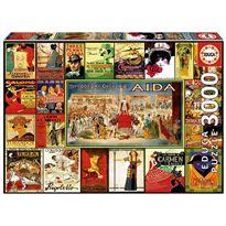 Puzzle 3000 collage de óperas