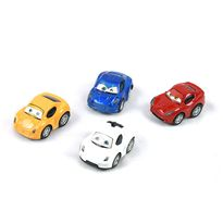 Pack 4 coches 6cm