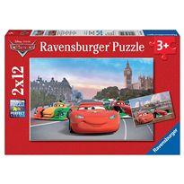Puzzle 2 x 12 rayo mcqueen - 26907554