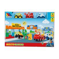 Caja molto blocks 3 coches - 26518452
