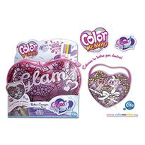 Color me mine glass glam corazon