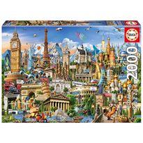 Puzzle 2000 símbolos de europa - 04017697