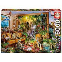 Puzzle 6000 entrando en la habitación - 04017679