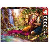 Puzzle 2000 jardín secreto - 04017673