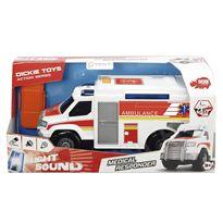 Ambulancia 30 cm luz y sonido - 91006002
