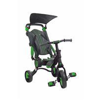 Triciclo galileo negro-verde plegable - 34350514
