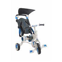 Triciclo galileo blanco + azul plegable - 34350613