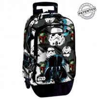 Mochila a.o. + trolley sw off -beat star wars off- - 75656468