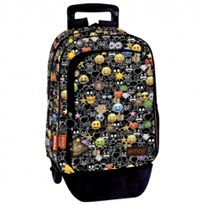 Mochila a.o. + trolley em just it emoji just it - 75656451