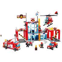 Bomberos construcción 874 pzas - 87857016