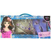 Set joyas y zapatos lilas - 89906026