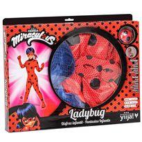 Disfraz ladybug 6-8 años - 55200115