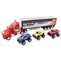 Camión transportador con 3 vehículos - 89815561