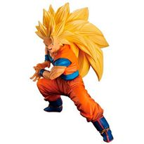 Super saiyan 3 son goku figura 14 cm dragon ball s - 33181327