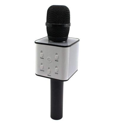 Micro karaoke negro bluetooh c/soporte - 89700108
