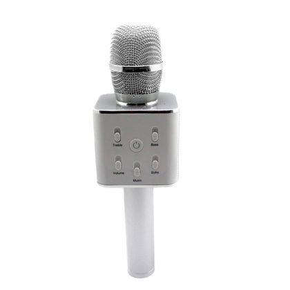 Micro karaoke blanco bluetooh c/soporte - 89700107