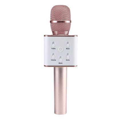 Micro karaoke rosa bluetooh c/soporte - 89700109
