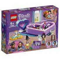 Pack de la amistad: caja corazón lego friends