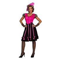 Disfraz señorita saloon rosa - 55226043