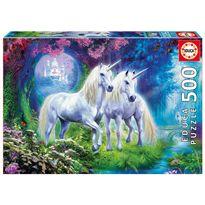 Puzzle 500 unicornios en el bosque - 04017648