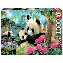 Puzzle 1000 osos panda - 04017995