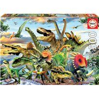 Puzzle 500 dinosaurios - 04017961