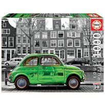 Puzzle 1000 coche en ámsterdam