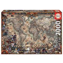 Puzzle 2000 mapa de piratas - 04018008